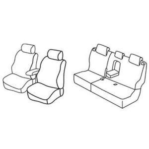 Sedežna prevleka za Hyundai ix20