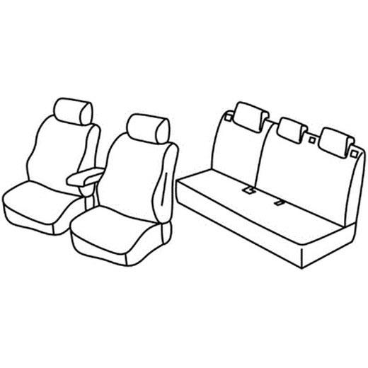 Sedežna prevleka za Hyundai Kona