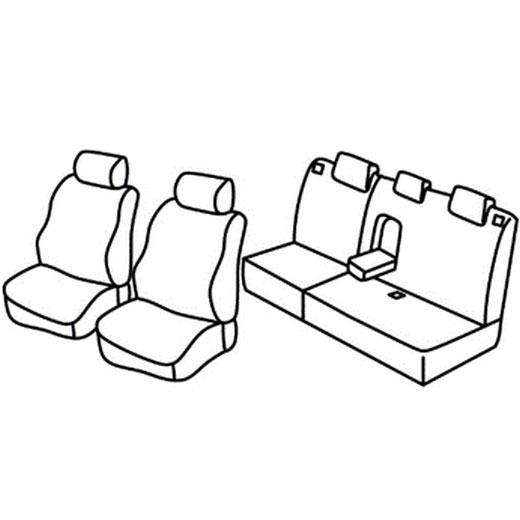 Sedežna prevleka za Hyundai Matrix