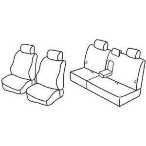 Sedežna prevleka za Hyundai Santa Fe