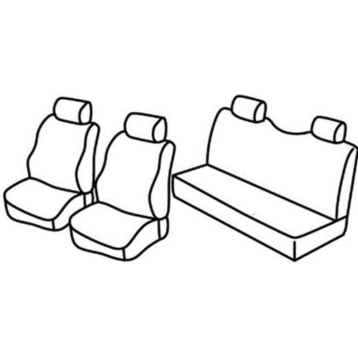 Sedežna prevleka za Isuzu D max
