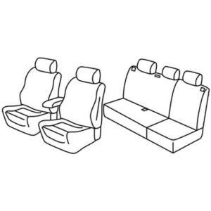 Sedežna prevleka za Jeep Grand Cherokee Sport