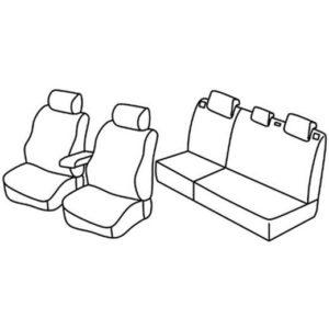 Sedežna prevleka za Kia Carens SUV