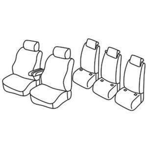 Sedežna prevleka za Kia Carnival 2 SUV