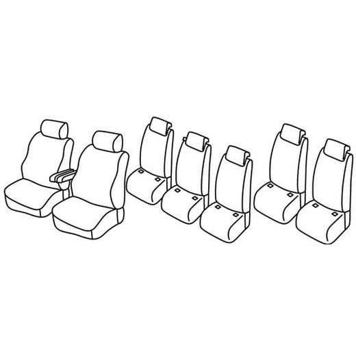 Sedežna prevleka za Kia Cee'd