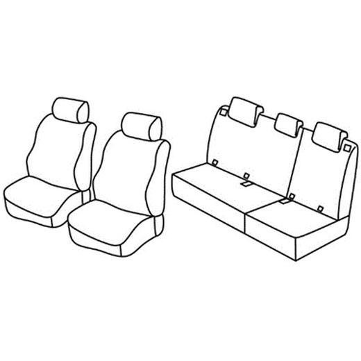 Sedežna prevleka za Kia Picanto