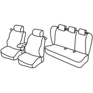 Sedežna prevleka za Kia Pro Cee'd Sport