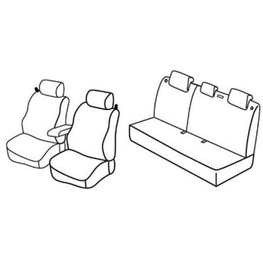 Sedežna prevleka za Kia Rio