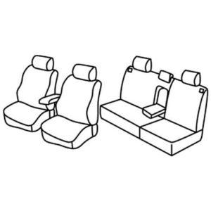 Sedežna prevleka za Kia Sorento 1