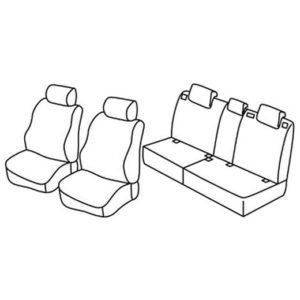 Sedežna prevleka za Kia Sorento 2