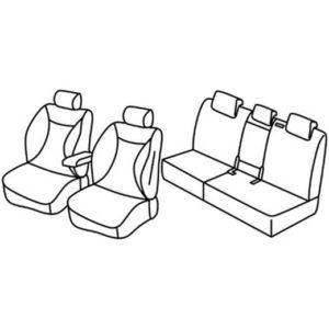 Sedežna prevleka za Kia Sorento 3