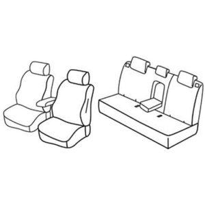 Sedežna prevleka za Kia Sportage