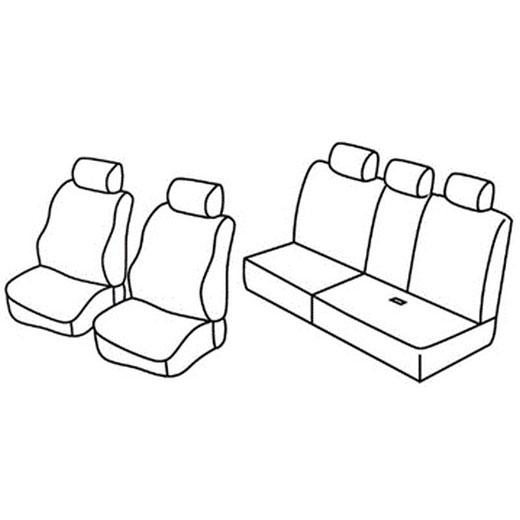Sedežna prevleka za Lancia Musa