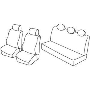 Sedežna prevleka za Lancia Ypsilon