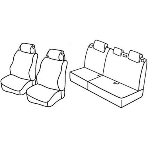Sedežna prevleka za Land Rover Discovery SUV