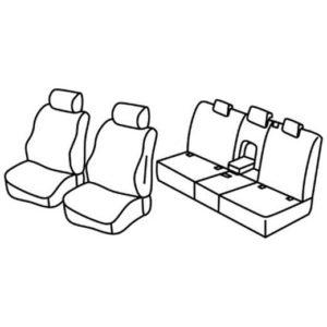 Sedežna prevleka za Land Rover Discovery