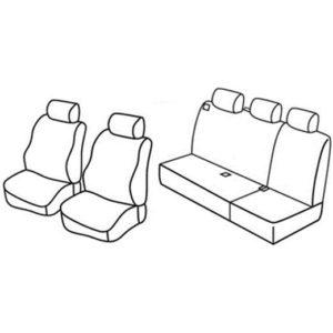 Sedežna prevleka za Land Rover Freelander