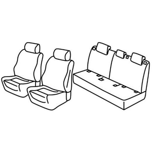 Sedežna prevleka za Land Rover Range Rover Evoque