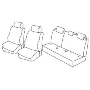 Sedežna prevleka za Mazda CX-3