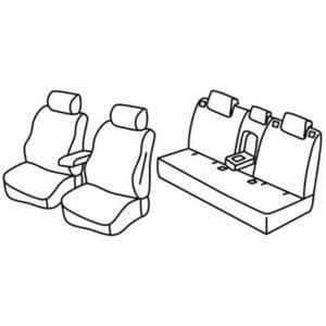 Sedežna prevleka za Mazda CX-5