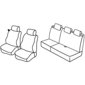 Sedežna prevleka za Mazda 2