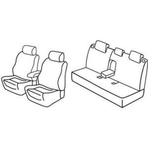 Sedežna prevleka za Mazda 3 Sedan