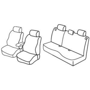 Sedežna prevleka za Mazda 3