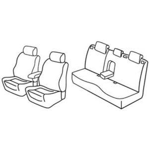 Sedežna prevleka za Mazda 3 Sport