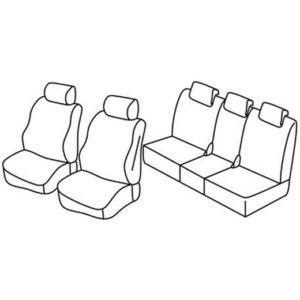 Sedežna prevleka za Mazda 5