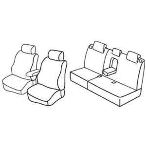 Sedežna prevleka za Mazda 6