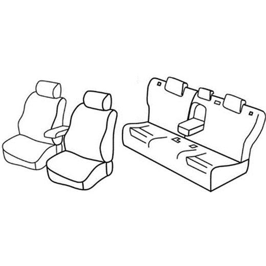 Sedežna prevleka za Mazda 6 Wagon