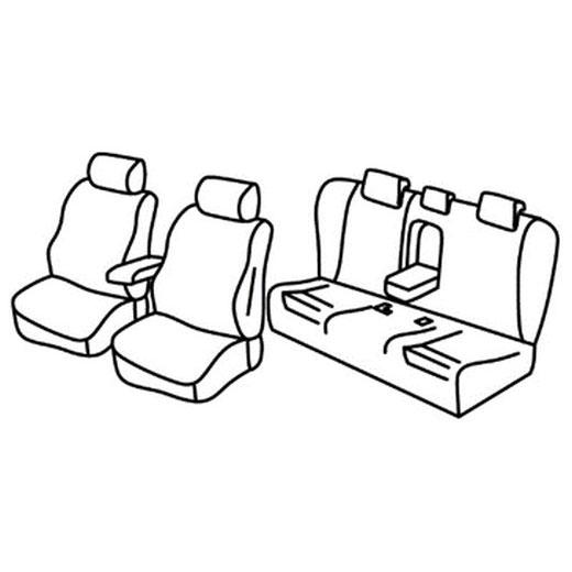 Sedežna prevleka za Mazda 6 Sedan