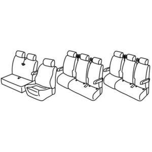 Sedežna prevleka za Mercedes Vito V-Class