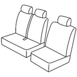 Sedežna prevleka za Mercedes Citan W415