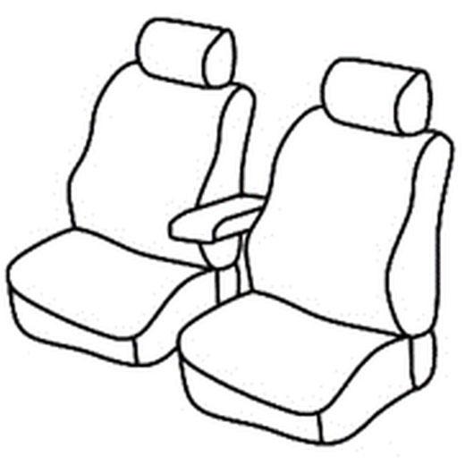 Sedežna prevleka za Mercedes Citan