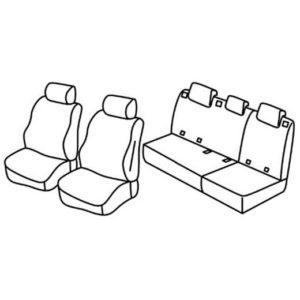 Sedežna prevleka za Mercedes Classe A