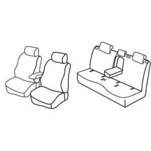 Sedežna prevleka za Mercedes Classe B w246