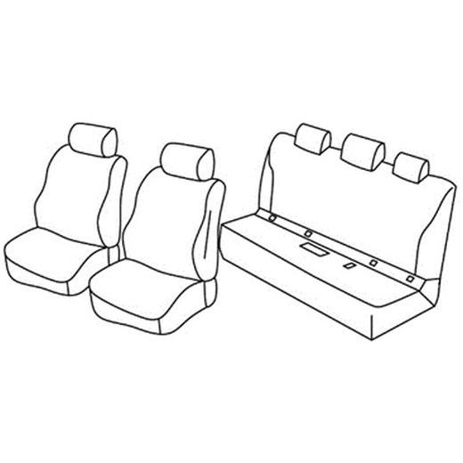 Sedežna prevleka za Mercedes Classe C Sedan