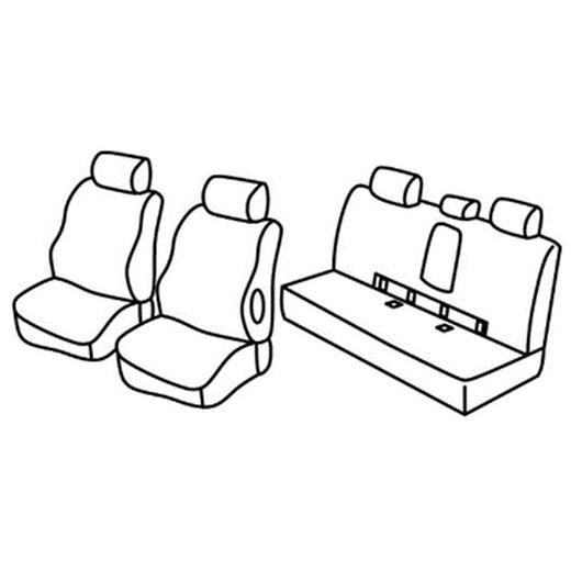 Sedežna prevleka za Mercedes Classe E w212