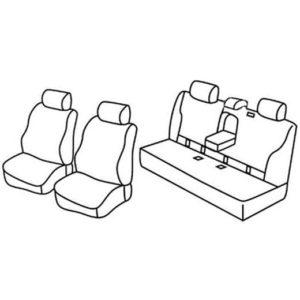 Sedežna prevleka za Mercedes Classe E station wagon