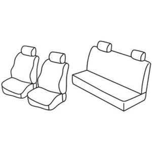 Sedežna prevleka za Mercedes Classe G Puch