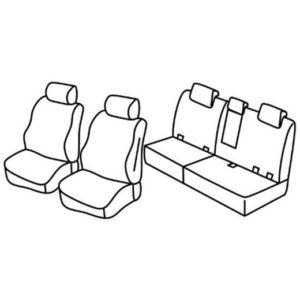 Sedežna prevleka za Mercedes Classe M