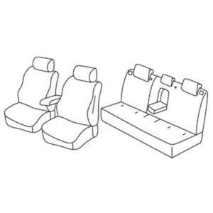 Sedežna prevleka za Mitsubishi Lancer