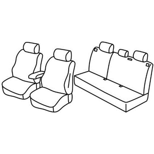 Sedežna prevleka za Mitsubishi ASX