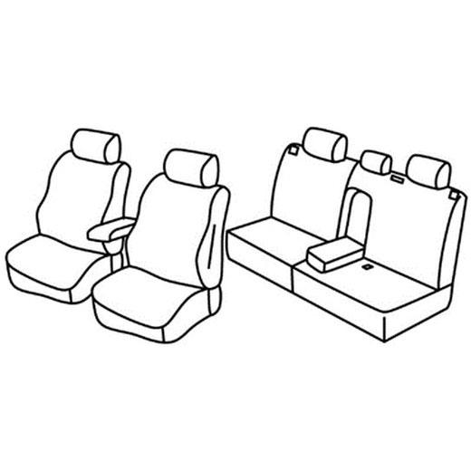 Sedežna prevleka za Mitsubishi ASX SUV