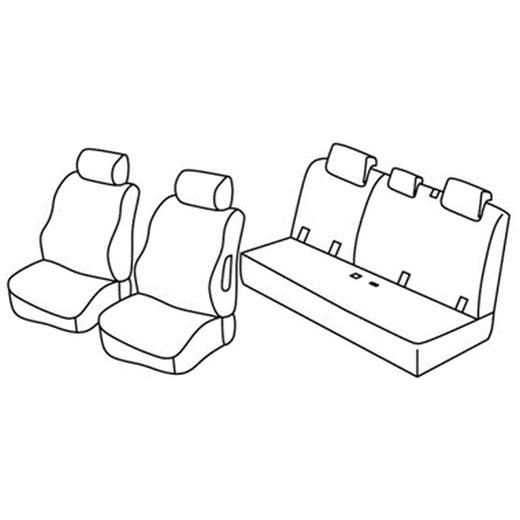 Sedežna prevleka za Mitsubishi Space Star