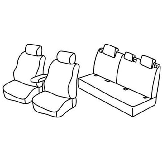 Sedežna prevleka za Nissan Note