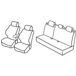 Sedežna prevleka za Nissan Juke