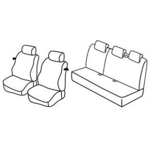 Sedežna prevleka za Nissan Micra 3