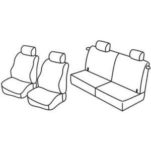 Sedežna prevleka za Opel Agila